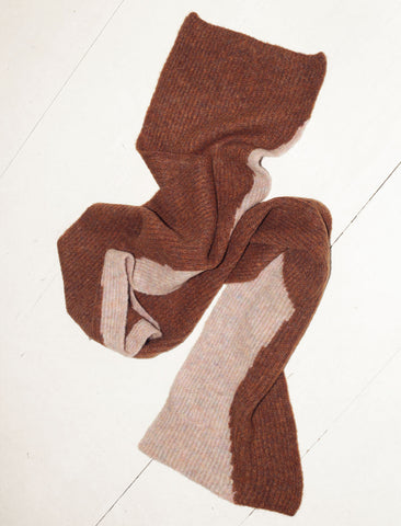 Paloma Lua Scarf - Shiny Brown
