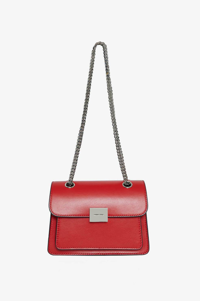 Anine Bing MINI FELIX BAG IN RED