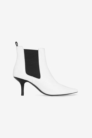 Anine Bing STEVIE BOOT IN WHITE