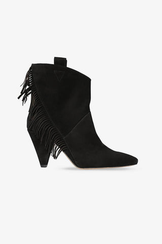 Anine Bing DIXIE BOOTS IN BLACK
