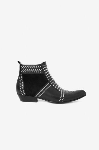 Anine Bing CHARLIE BOOTS- SILVER STUDS