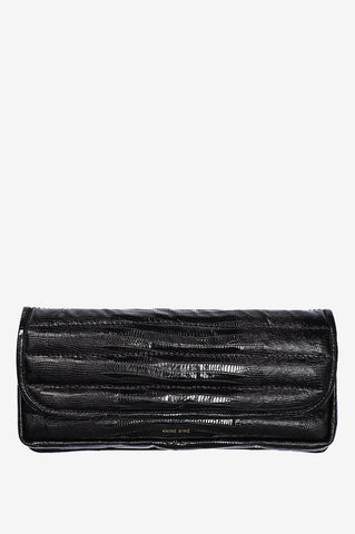 Anine Bing NATASHA CLUTCH AB X HC IN BLACK CROC