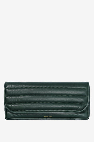 Anine Bing NATASHA CLUTCH AB X HC IN GREEN