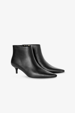 Anine Bing STELLA ANKLE BOOT IN BLACK