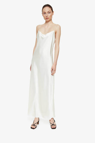 Anine Bing CHLOE DRESS IN IVORY