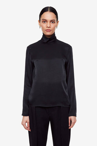 Anine Bing CLEO TOP IN BLACK