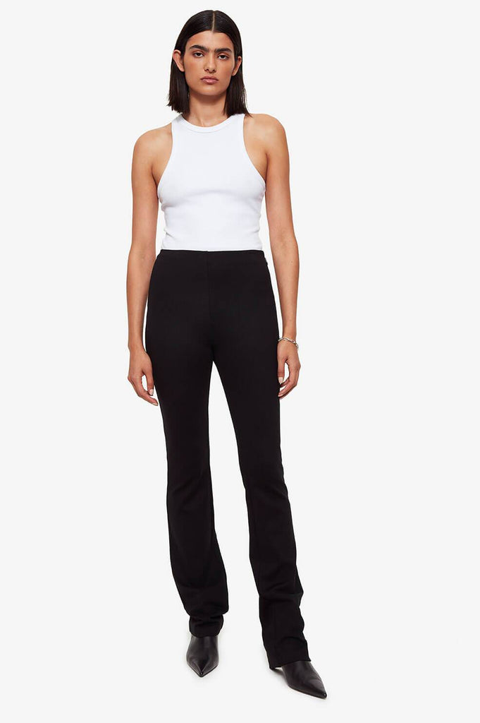 Anine Bing DAKOTA PANT IN BLACK