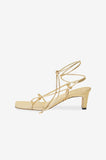 Anine Bing GRAHAM SANDALS - GOLD