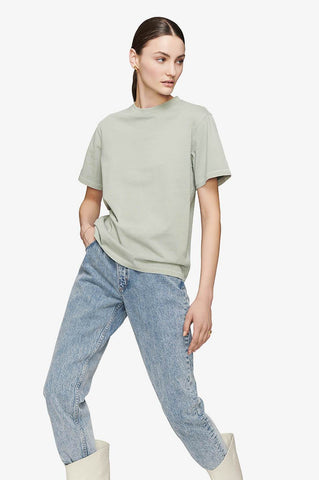 Anine Bing HUDSON TEE IN MINT
