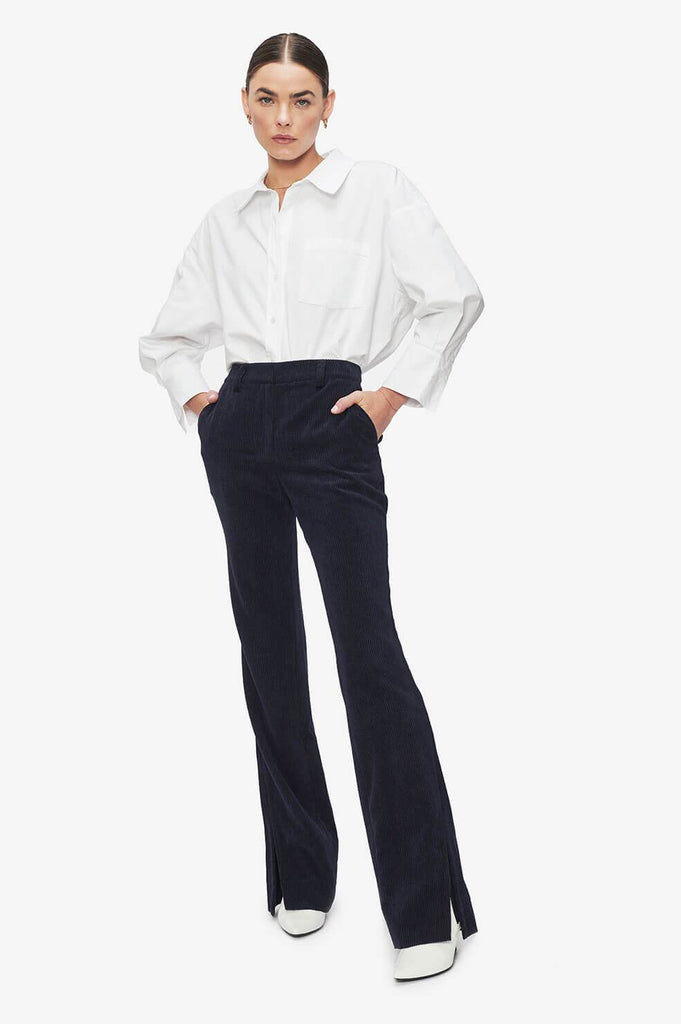 Anine Bing JOCELYN TROUSER - MIDNIGHT