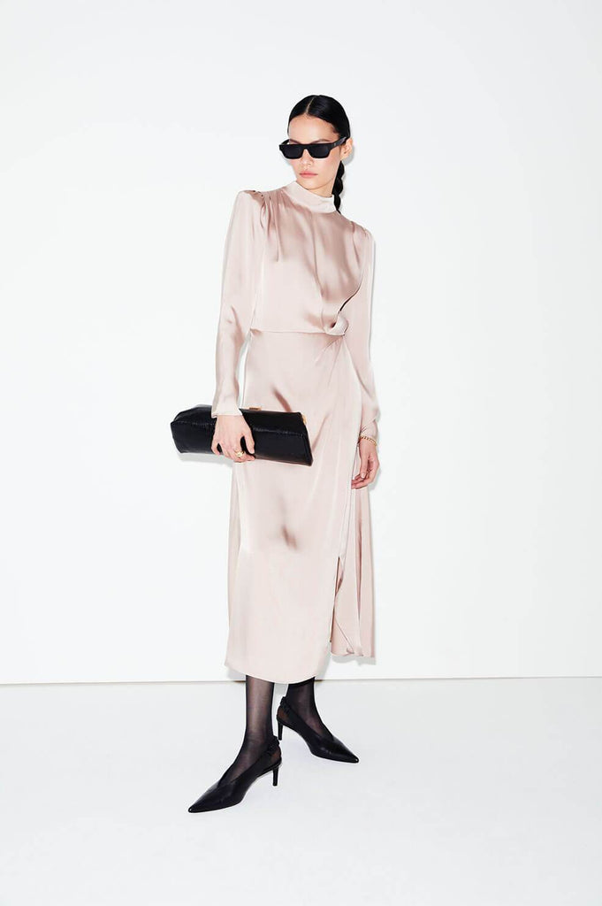 Anine Bing KIM DRESS IN MUTED ROSE