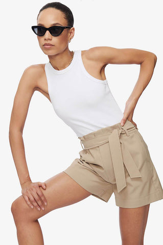 Anine Bing KINSLEY SHORTS IN SAND