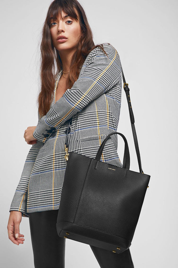 Anine Bing LYON TOTE IN BLACK