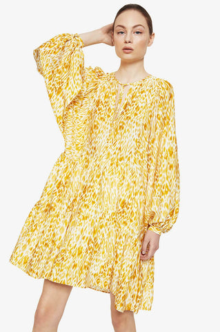 Anine Bing MADISON DRESS IN MARIGOLD LEO