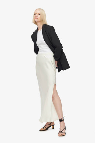 Anine Bing NOEL SKIRT IN IVORY
