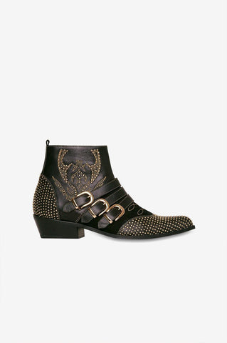Anine Bing PENNY BOOTS IN BLACK