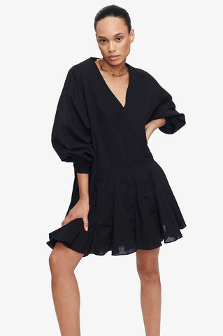 Anine Bing PEYTON DRESS IN BLACK