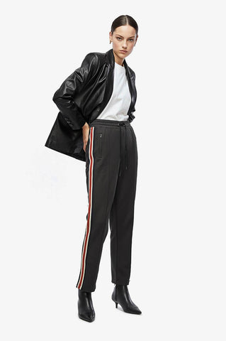 Anine Bing NICO TRACK PANTS IN BLACK
