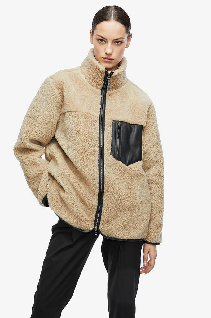 Anine Bing RYDER JACKET IN CAMEL