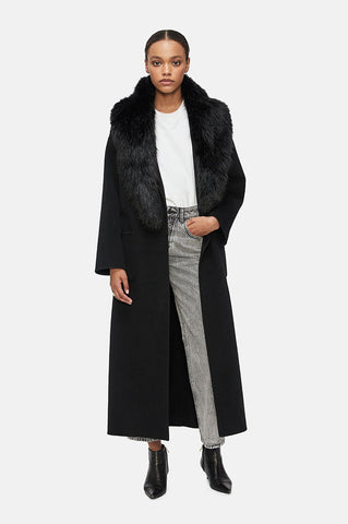 Anine Bing RUTH COAT IN BLACK