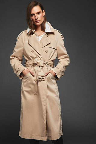 Anine Bing STORMI TRENCH IN CAMEL