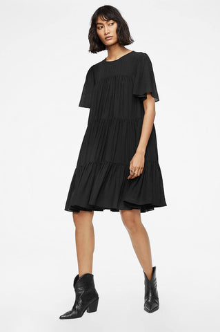 Anine Bing TABITHA DRESS IN BLACK