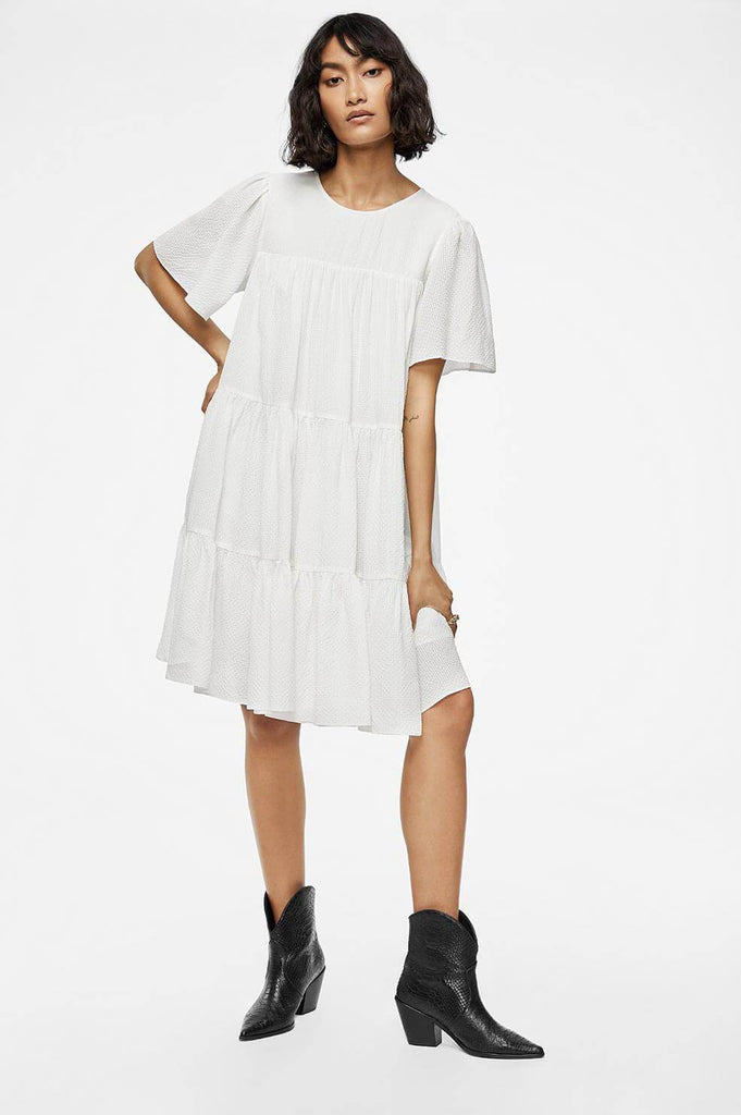 Anine Bing TABITHA DRESS IN WHITE