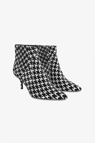 Anine Bing WHITNEY BOOT IN HOUNDSTOOTH