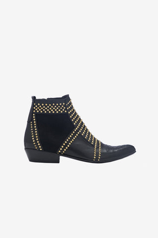 Anine Bing CHARLIE BOOTS- GOLD STUDS