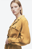 Anine Bing KAIDEN DRESS IN MUSTARD