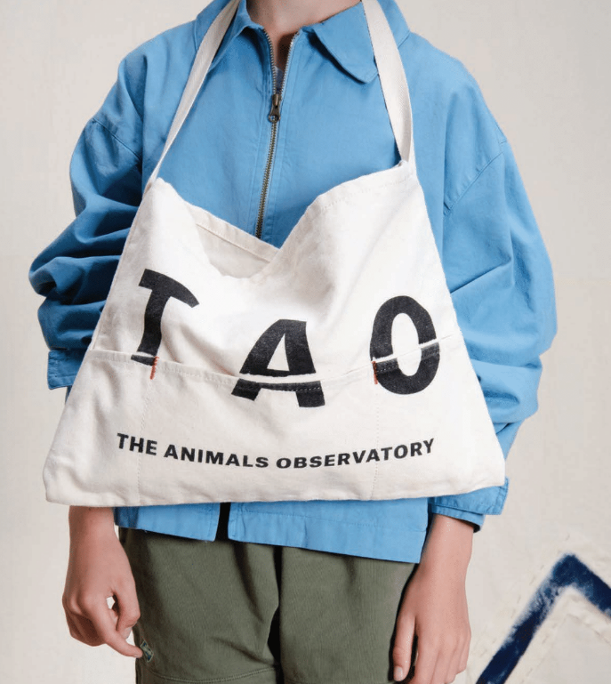 [TAO] SS18 CANVAS APRON ONESIZE APRON China RAW WHITE