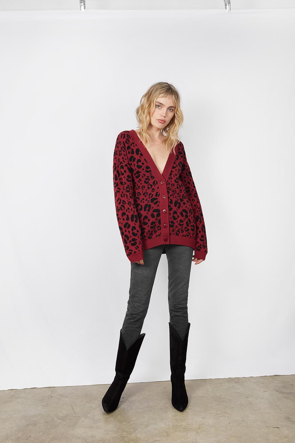 Anine Bing JUSTINE CARDIGAN – ANOTHER20.COM I ANOTHER 20 8bbc39204
