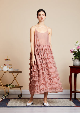 Sister Jane What's The Ruffle Midi Dress