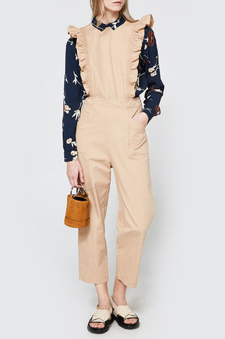 GANNI Ruffle Phillips Jumpsuit