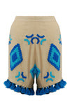 [Mochi] Bannu Embroidered Shorts