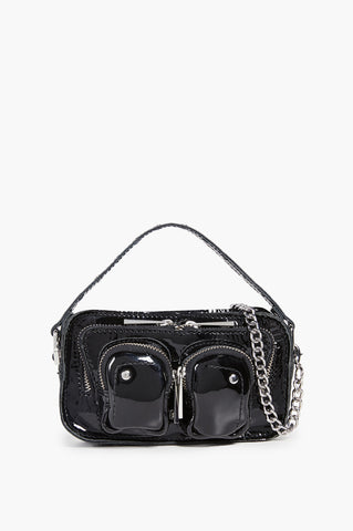 Núnoo Helena Patent Bag - Black