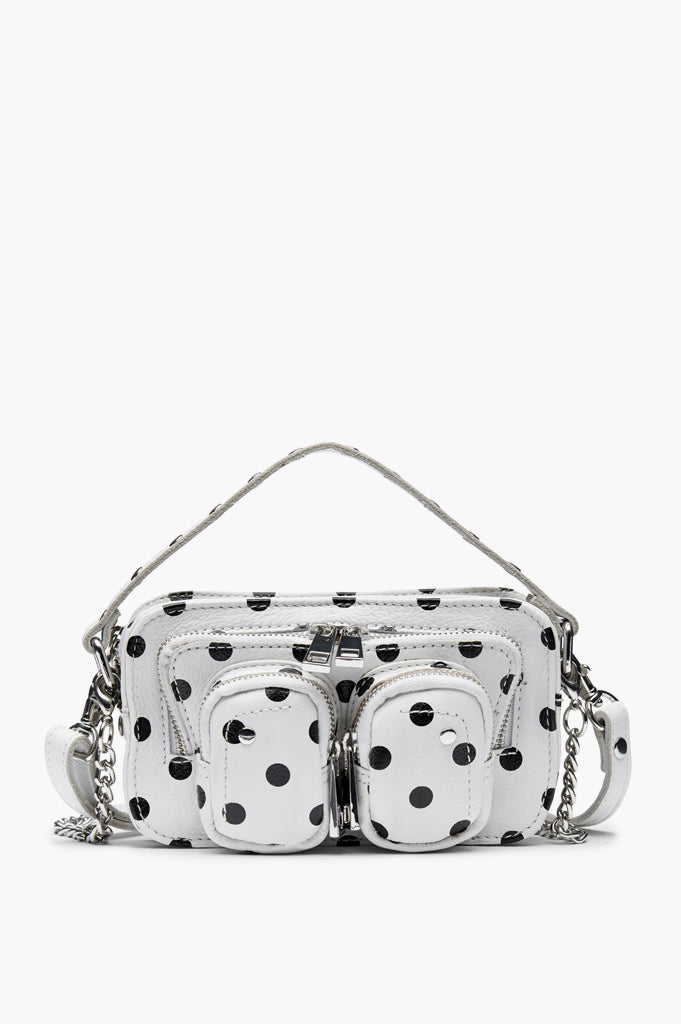 Núnoo Helena Dots Bag - White