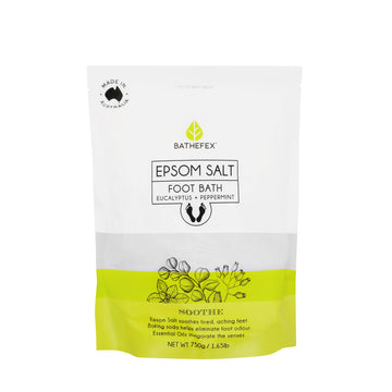 Bathefex Epsom Salt Foot Bath 750g