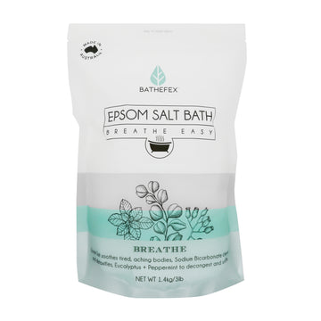 Bathefex Epsom Salt - Breathe Easy 1.4kg