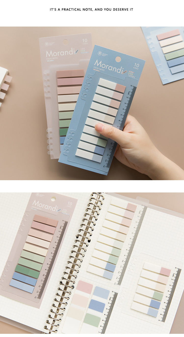 Colorful Rainbow Pastel Sticky Notes