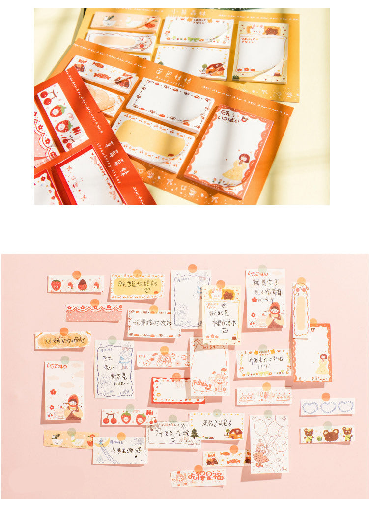 Warm Story Sticky Notes