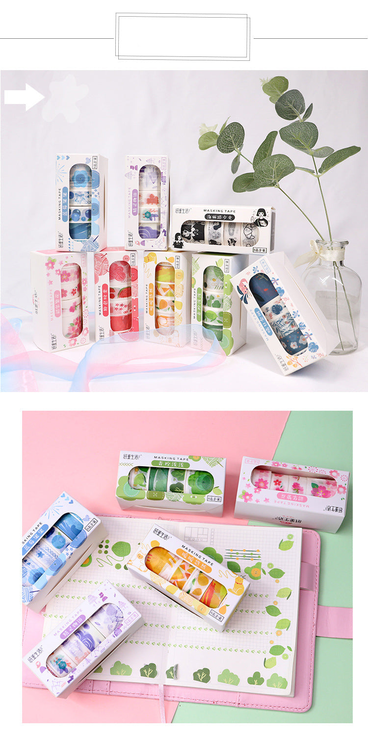Color Pop Washi Tape Set
