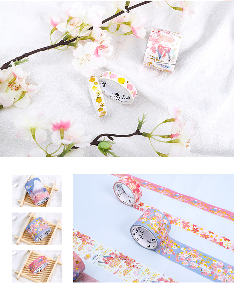 Spring Lantern Washi Tape Set