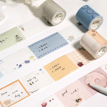 Load image into Gallery viewer, Thought Notes Washi Tape - WashiGami