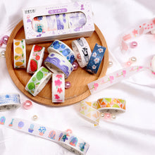 Load image into Gallery viewer, Color Pop Washi Tape Set - WashiGami