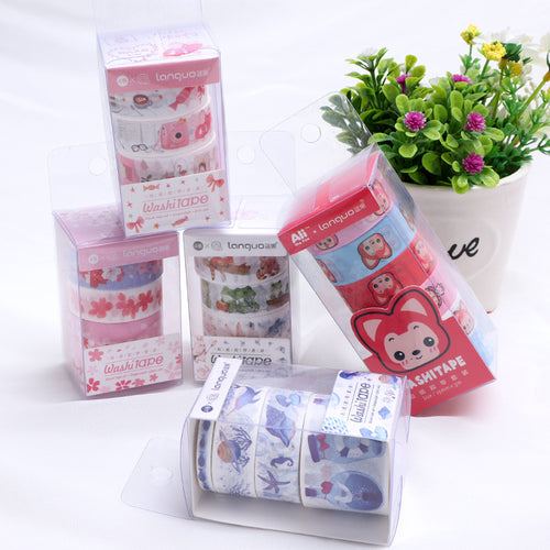 Raccoon Love Washi Tape Set - WashiGami