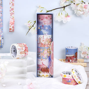 Spring Lantern Washi Tape Set - WashiGami
