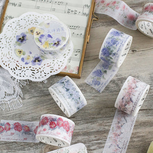 Flower Road Washi Tape - WashiGami
