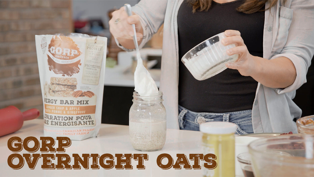 GORP Ready Mix makes Overnight Oats! Breakfast Hack!