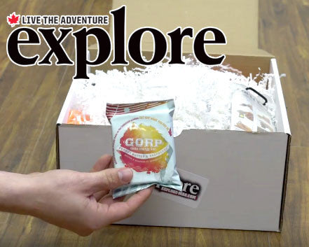 explore magazine gorp energy bar